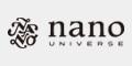ナノ・ユニバース公式通販サイト
